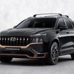 Hyundai Santa Fe ra mắt bản thể thao N Performance