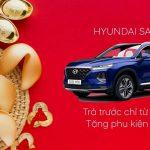 """Hyundai SantaFe Tháng 01/2021 """"Ưu Đãi Xuân Về hơn 20 Triệu"""""""